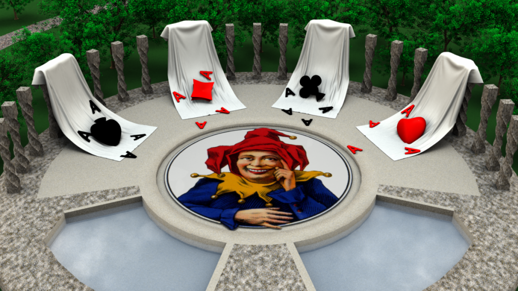 Aces Down (The Final Joke) (Carrara Challenge #7, February 2014)
