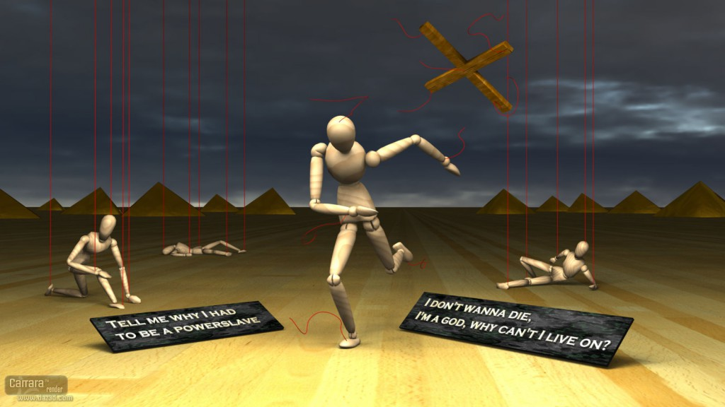 Run of the Powerslave (Fuzzies 2012 contest)